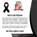 Nota de pesar em homenagem a família do senhor ex-vereador Francisco José de Medeiros (Tico Soares).
